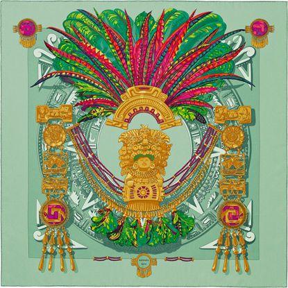 a495c2ca5950 La Maison des Carrés Hermès   Mexique   Hermes Scarf   Pinterest ...