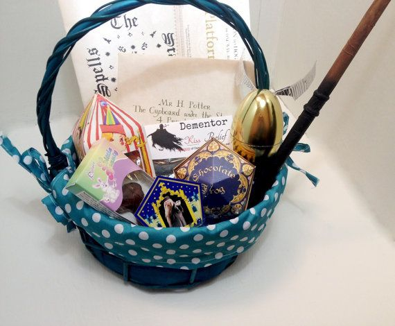 Harry potter easter basket by themuggleway on etsy for b harry potter easter basket by themuggleway on etsy negle Choice Image