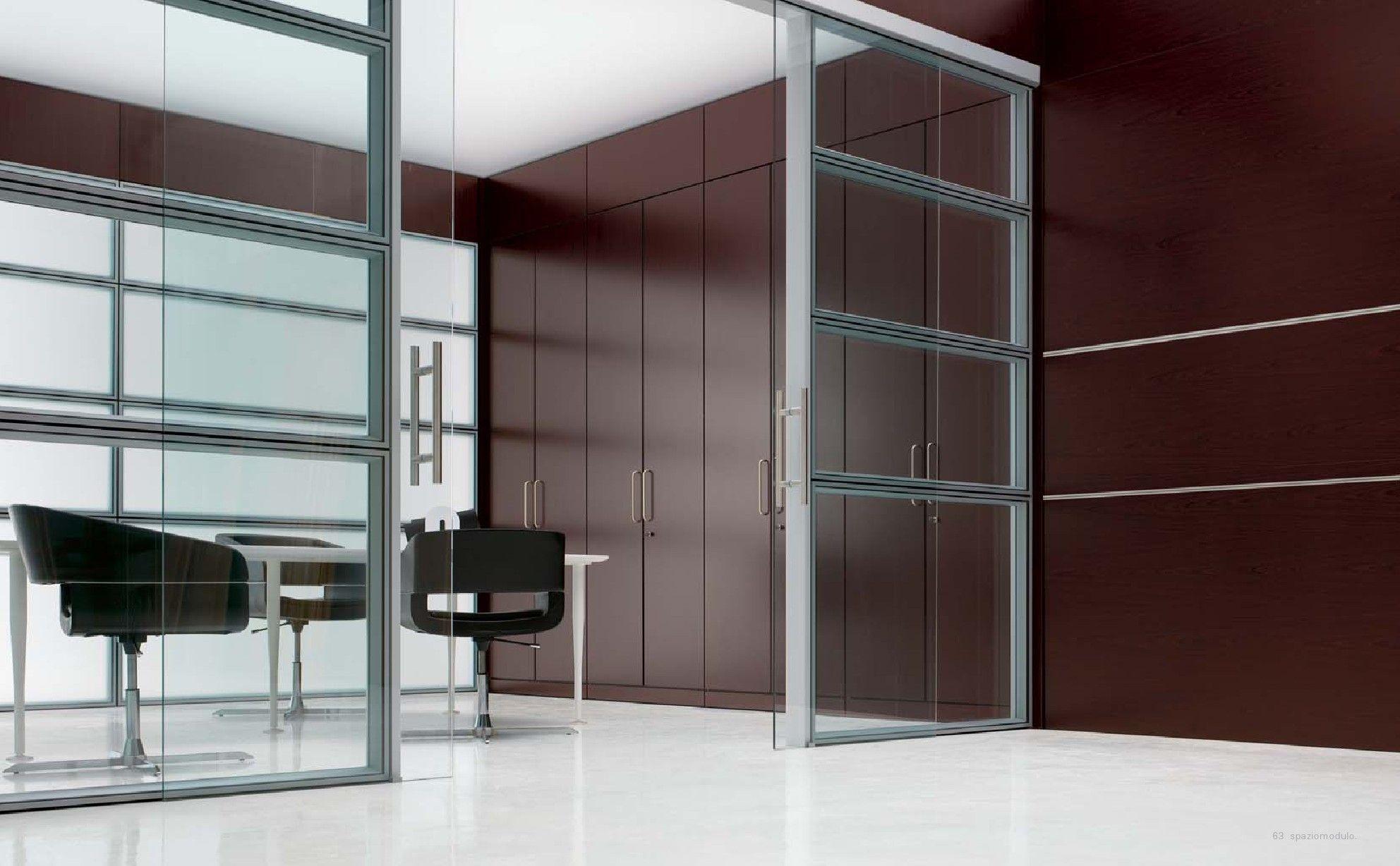 Pareti divisorie attrezzate #arredamento #uffici #design #creative #office www.paolocavazzoli.it
