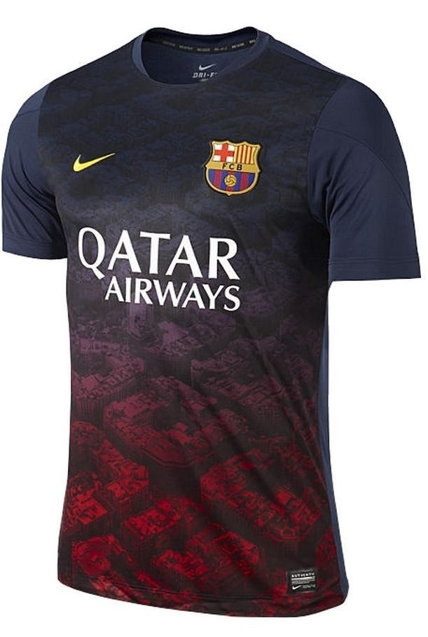 Suit up for kickoff with Barcelona! COMFORTABLE AND VENTILATED 8c9db70e616
