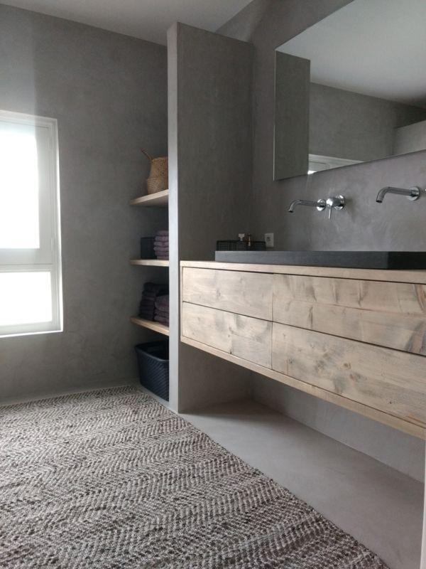 Photo of Badezimmerschrank mit 4 Schubladen  Badezimmermöbel Das Gartenzimmer Leeuwar #b…