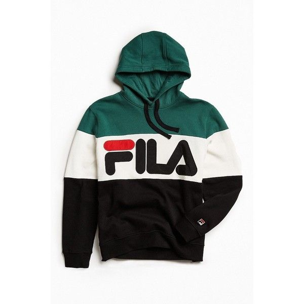 Clothing · FILA Colorblocked Hoodie ...