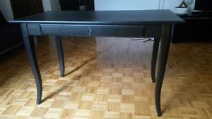 Bureau noir ikea leksvik black desk city of montréal greater