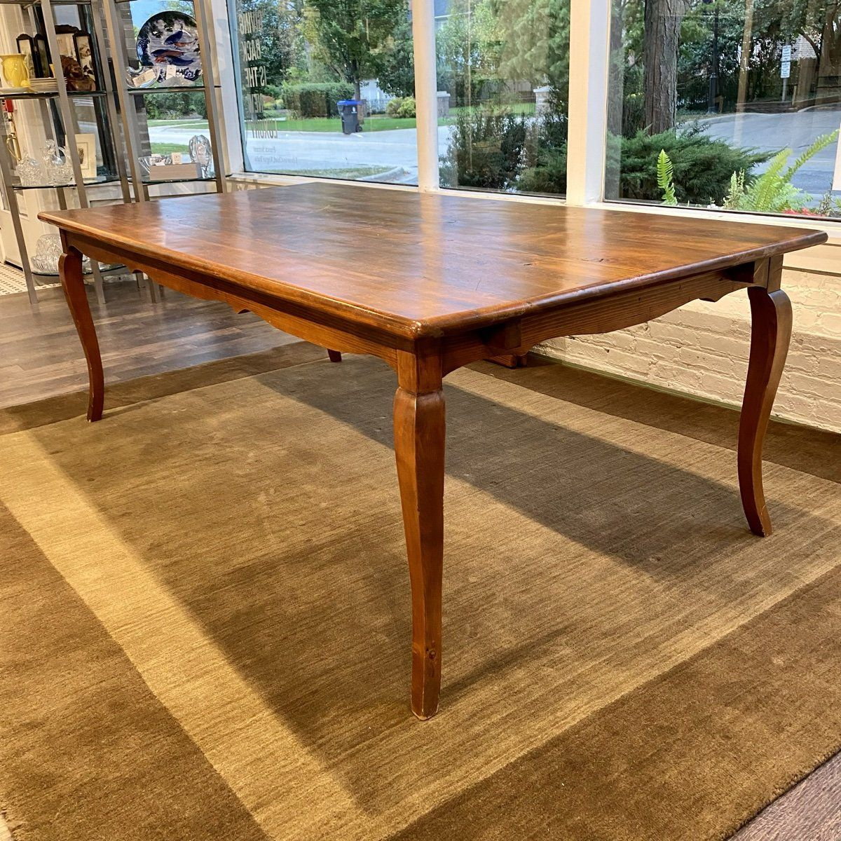Mig and Tig Brown Dining Table - Brown / 88 x 44 x 30