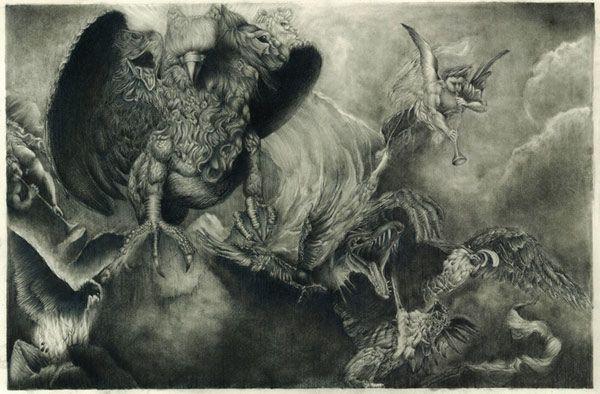 ziz a biblical bird monster from the bible ravishing raptors