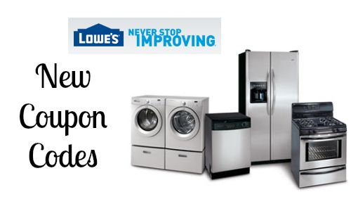 Lowes Coupons Promocodes On Couponsmonk Homeappliances