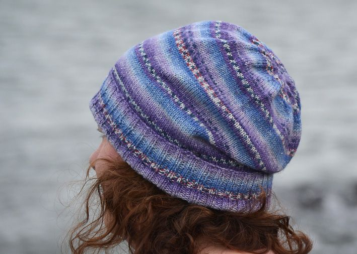 The Sockhead Slouch Hat designed by Kelly McClure. If you haven t come  across this free pattern yet 7381b6f8a1b