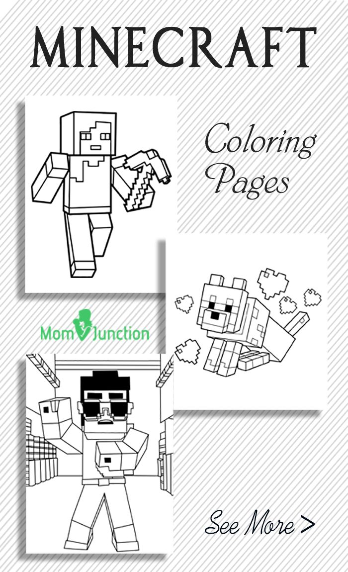 Looking For Minecraft Coloring Pages Yes We Are Here To Help You Heres Our Free Printable Kids Get Your Little Geek Started