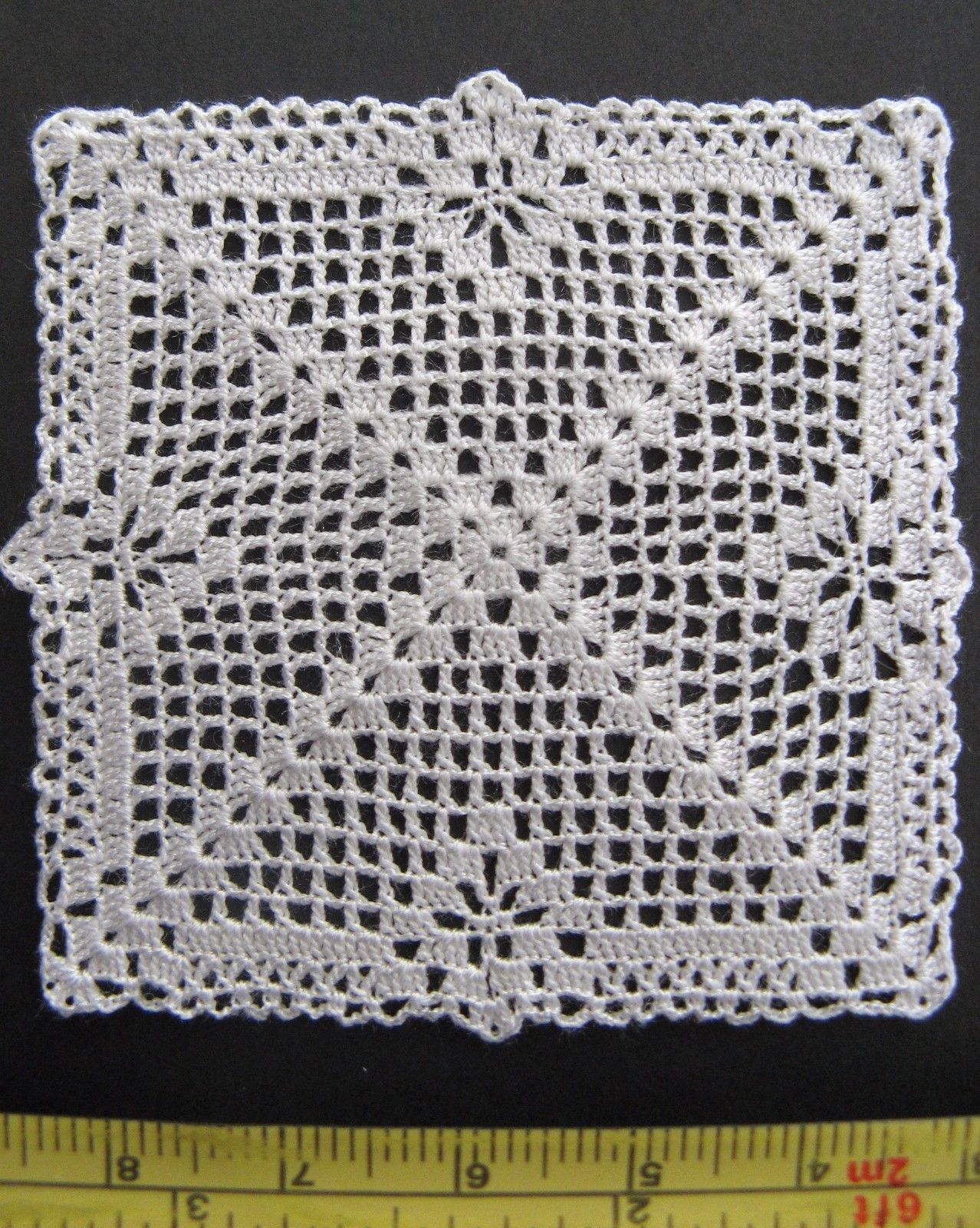 1000 images about crochet thread mini amp micro on pinterest - Dollhouse Miniature Small Square Silk Crochet Doily Table Cover Igma Artisan