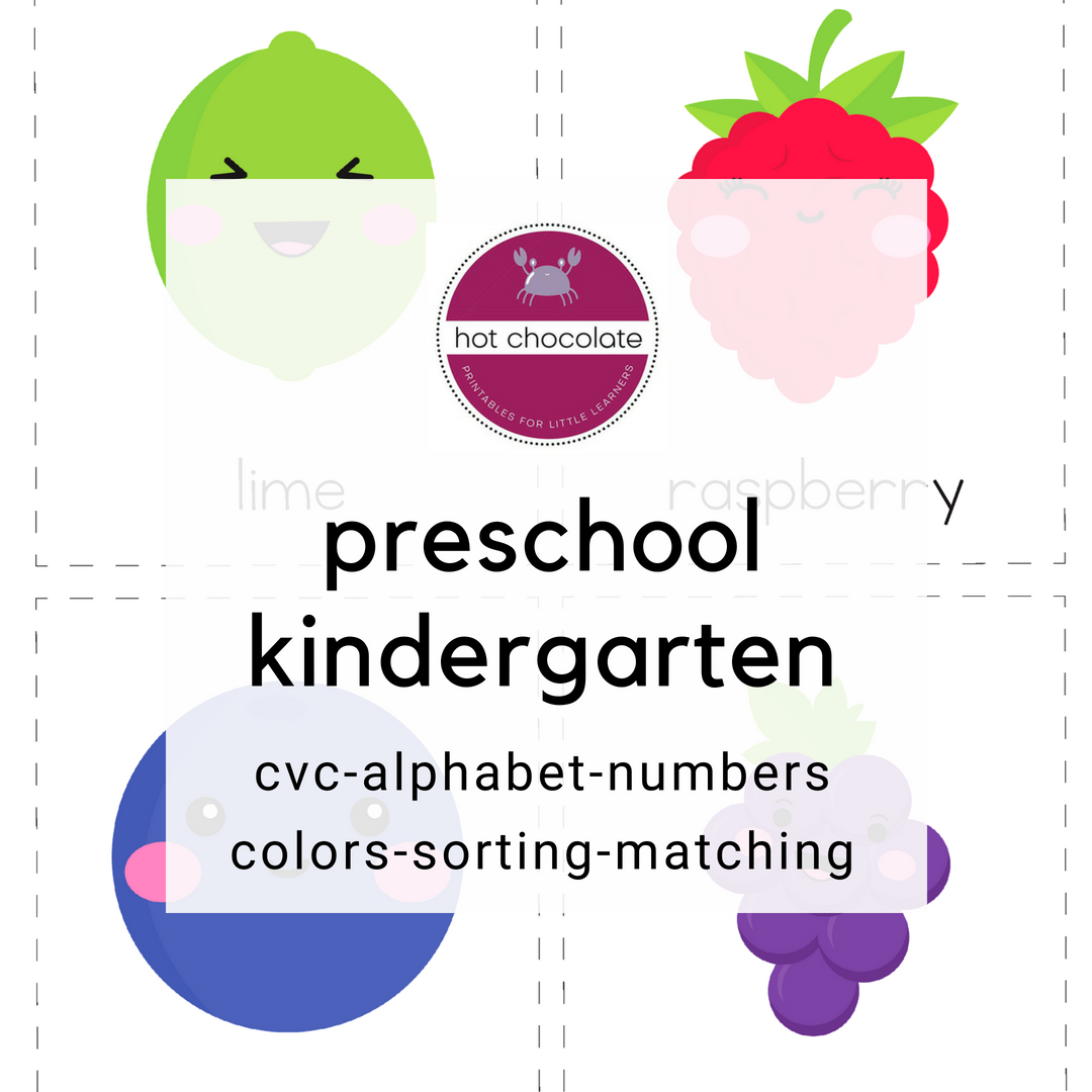 Learning Activities And Printables For Young Learners