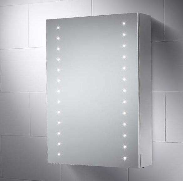 500x700mm Sandy Led Illuminated Bathroom Mirror Cabinet Bathroom Mirror Cabinet Mirror Cabinets Mirror