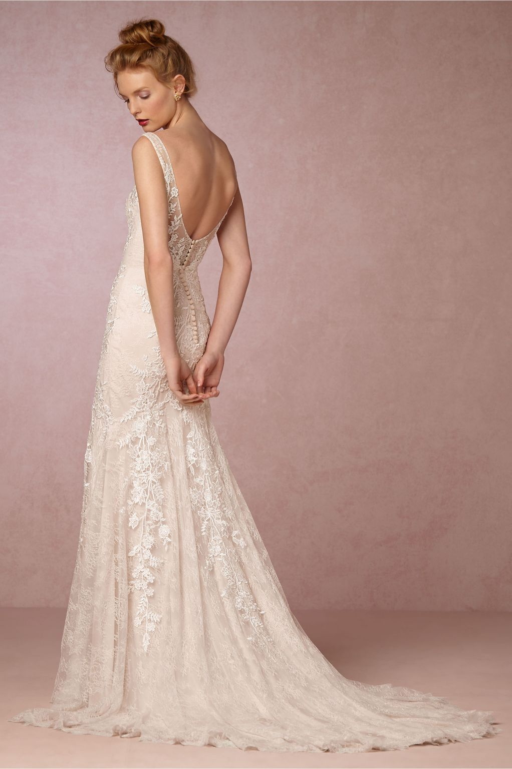 Wedding Dress Resale.Bhldn Elisha Gown 1 300 Size 10 Used Wedding Dresses In