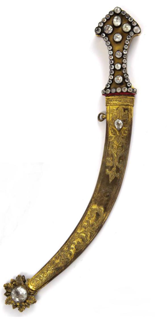 Ottoman dagger turkey ca 1800 daggers swords for Dekoration turkis
