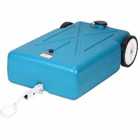 Free Shipping Buy Barker 30 Gallon Tote Along Drain Water Tank At Walmart Com Water Tank Waste Tanks Barker