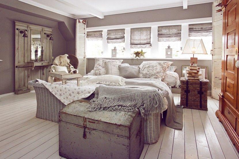Vintage Shabby Chic Wintergarten Deko Antik interior wohnen - schlafzimmer deko wei