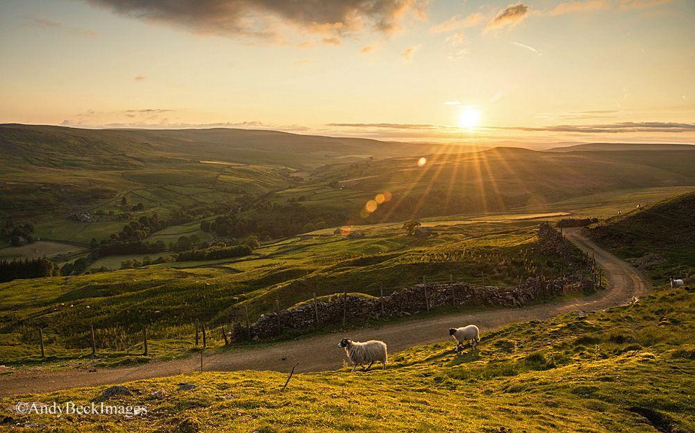 Yorkshire Dales sunset