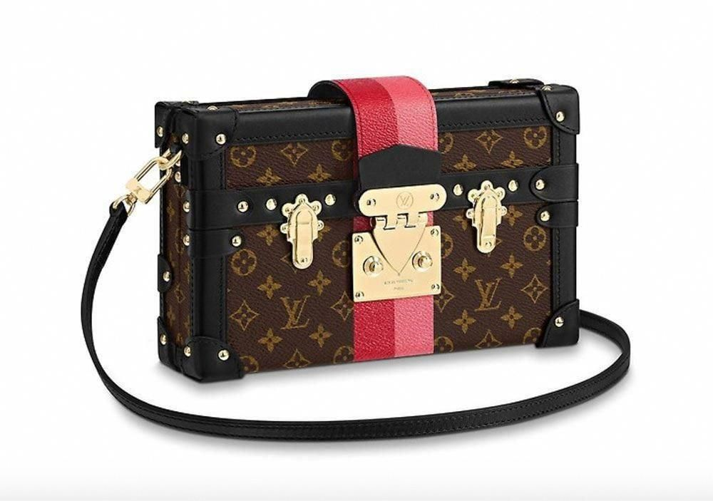 9260f4d13912 The First Louis Vuitton Fall 2018 Bags Have Arrived: Classic Shapes with  Crisp Stripes - PurseBlog #Louisvuittonhandbags