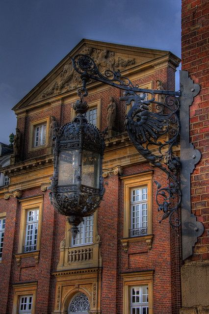 Schloss Nordkirchen in Westphalia, Germany, According to the legend, at full…