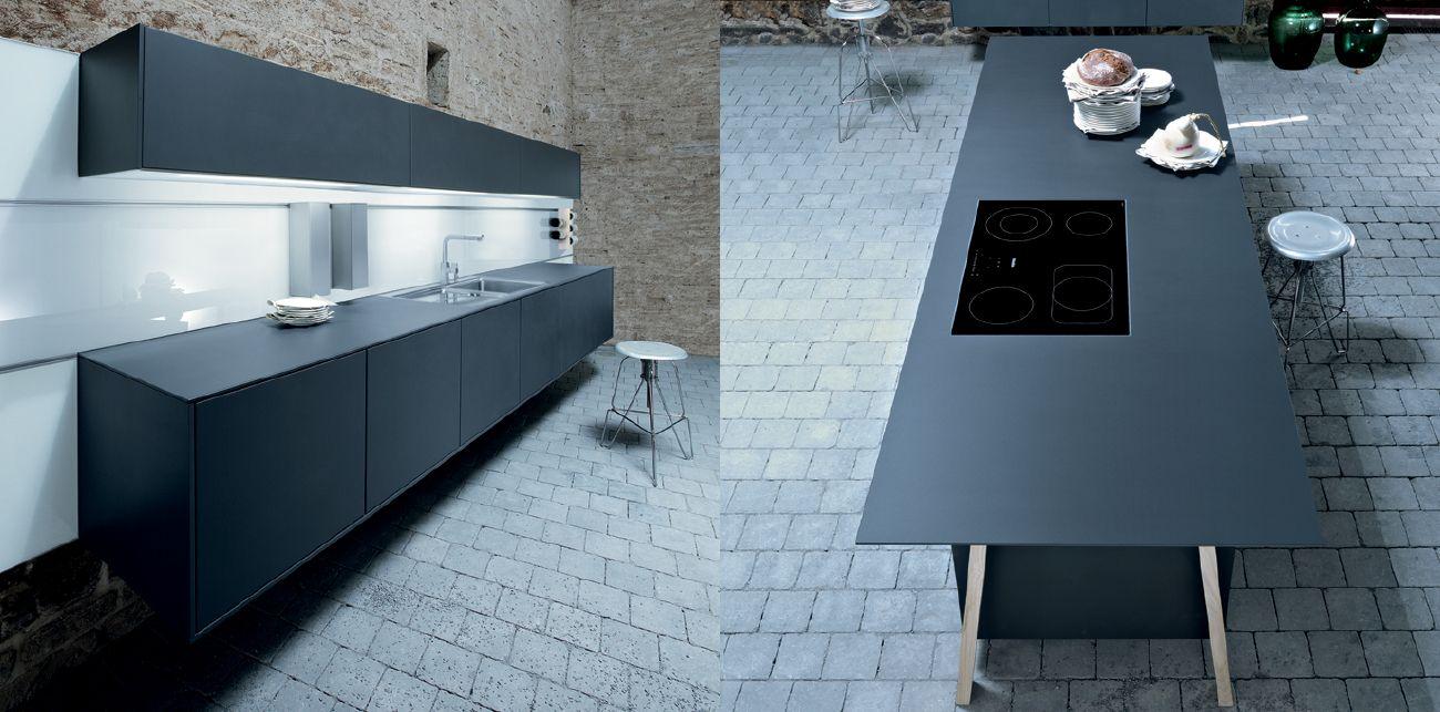Kitchen Perfection Next125 Nx 500 Lava Black Satin Kitchen
