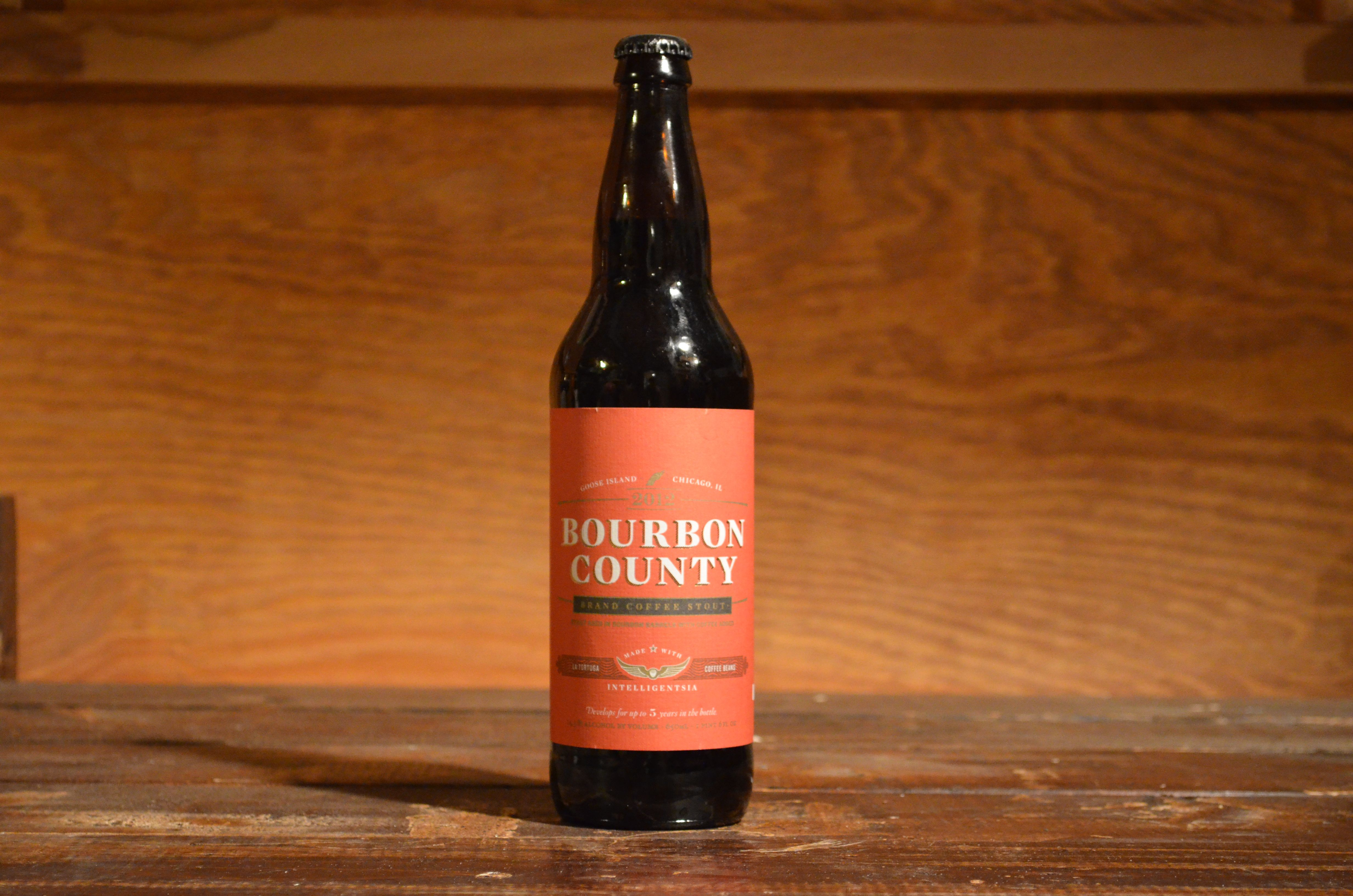 Goose Island - Bourbon County Brand Coffee Stout. 2 bottles.
