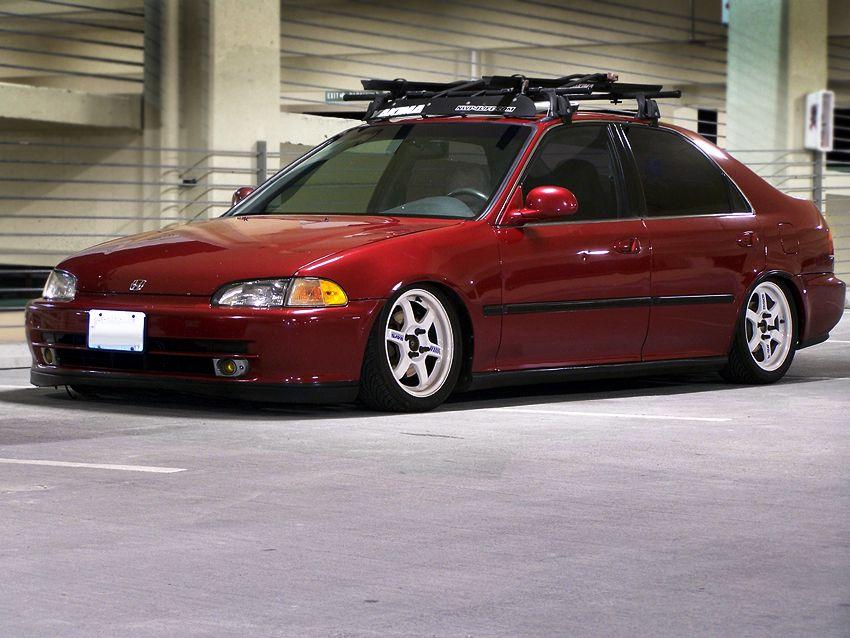 One Of The Best Eg Sedans Honda Civic 1995 Honda Civic Sedan Honda Civic Coupe