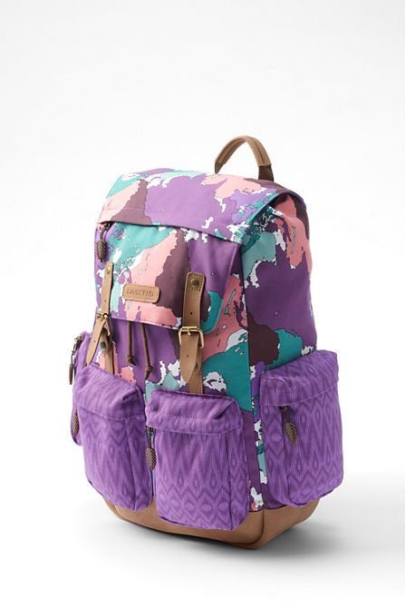 Kids Global Classmate Backpack From Lands End Designed By Project Runway Junior Contest Peytie