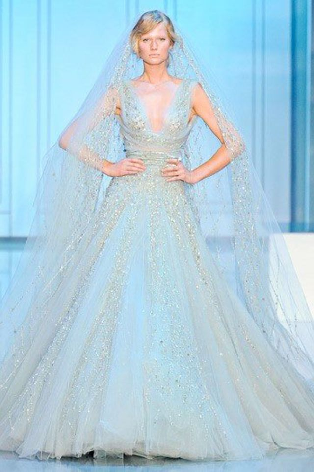 ✿✿✿~ Powder Blue wedding dress ~✿✿✿~ | Dream Wedding ...