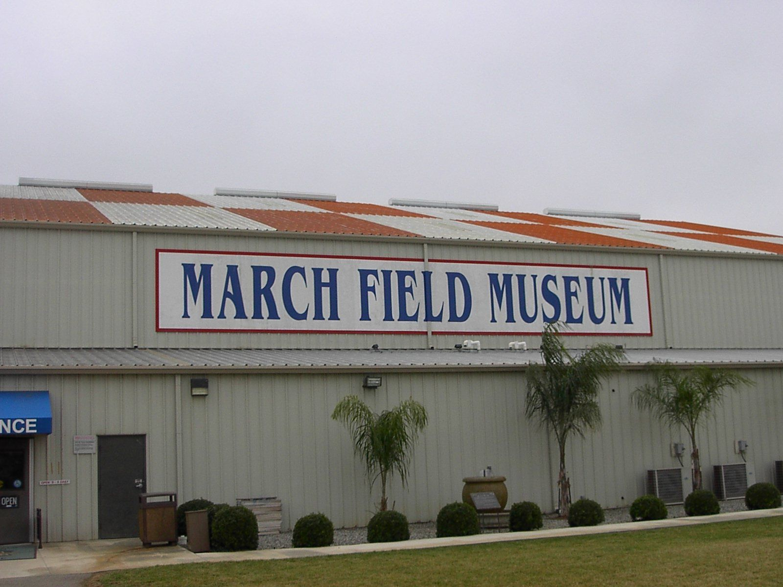 March Field Museum, March AFB, Moreno Valley, CA Field