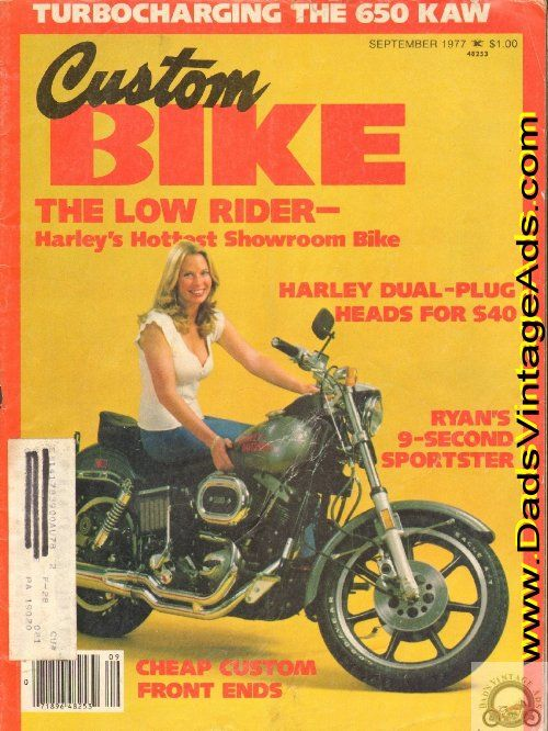 1977 Custom Bike Special Road Test: Harley-Davidson FXS Low Rider. This is why I got a Harley in the first place.