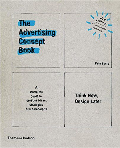 The Advertising Concept Book Think Now Design Later Third In 2021 Interactive Advertising Book Cover Design Download Books