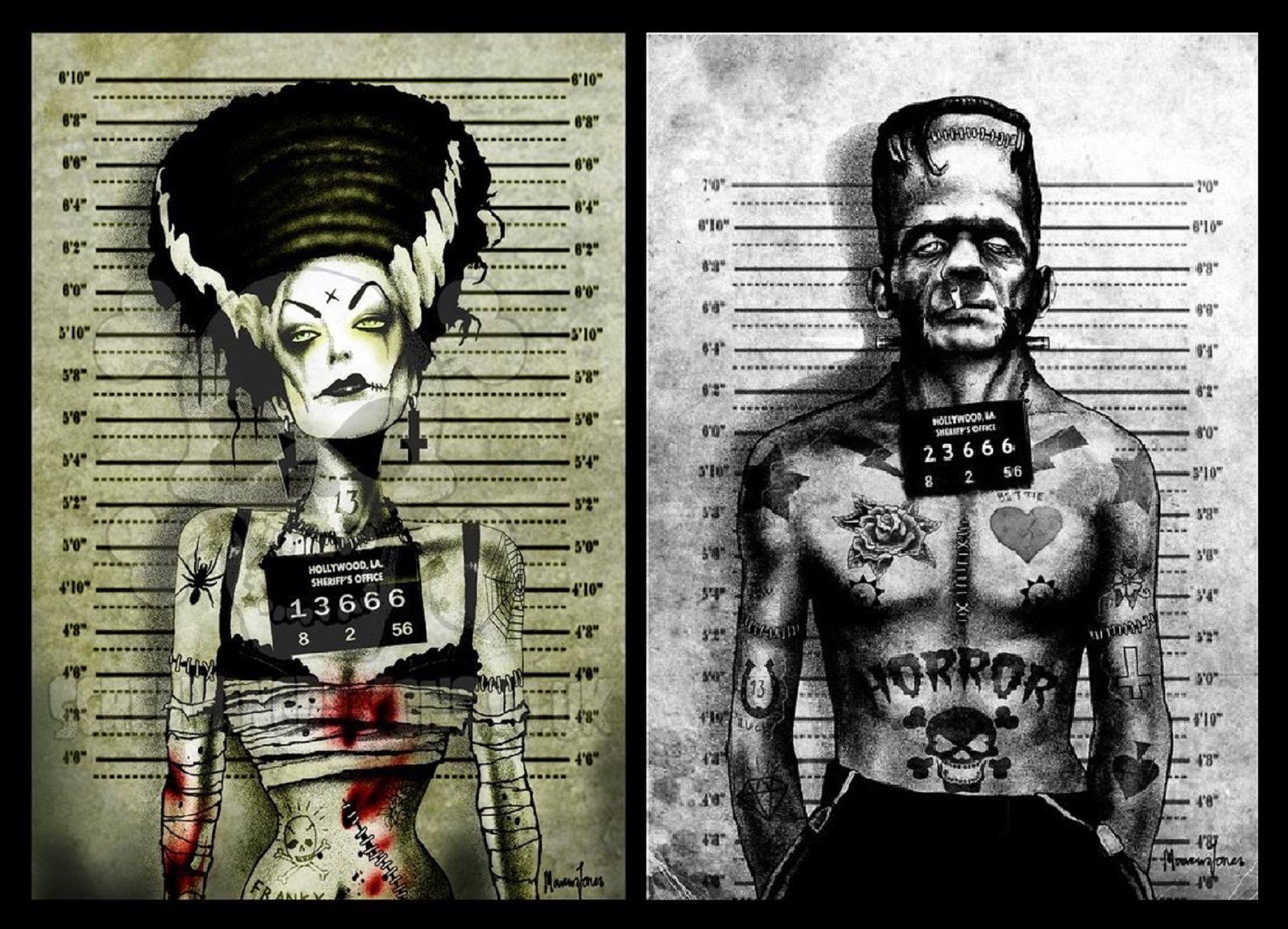 Frankenstein and Bride | Frankenstein. | Pinterest | Frankenstein