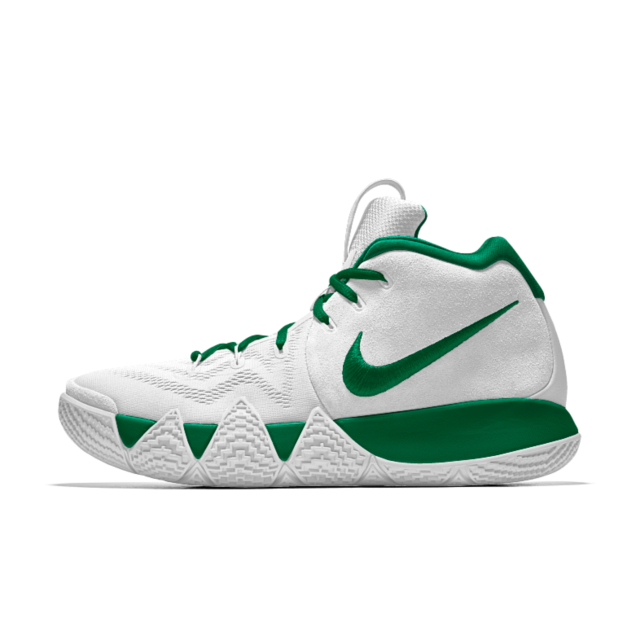 timeless design df726 7c53b Kyrie 4 iD Men's Basketball Shoe | Airbrush Custom Designnn ...
