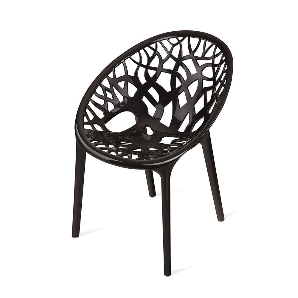 Nilkamal Crystal Chair (Black) - Best Home and Kitchen Store ...