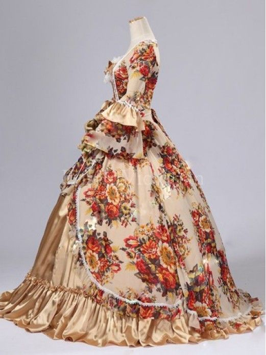 Prom Dresses From the 1700s