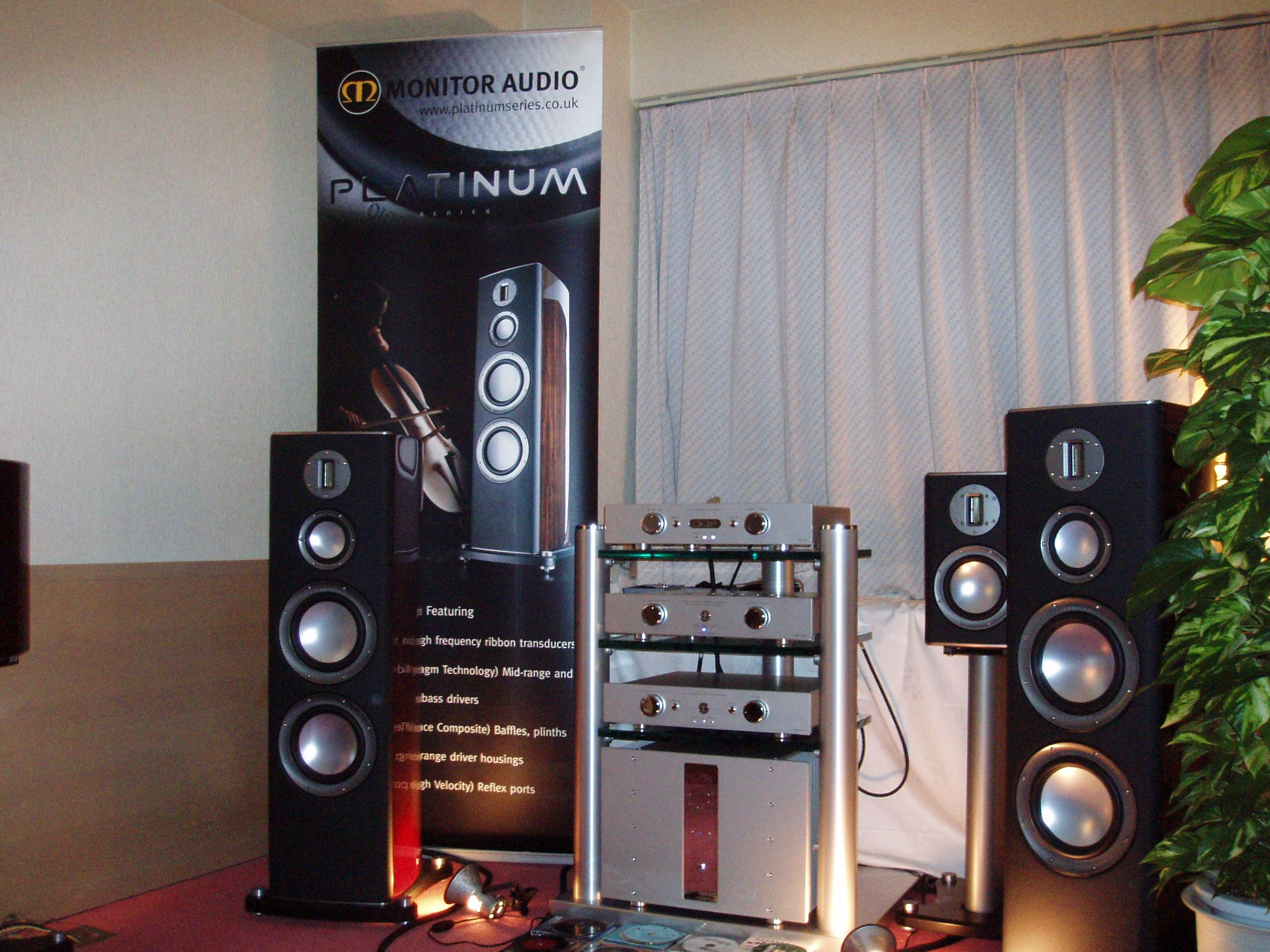 Monitor Audio Platinum Demo www.monitoraudio.de