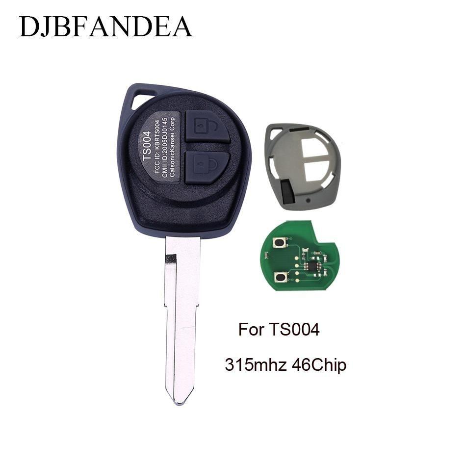 Djbfandea Id46 433mhz Car Remote Key For Suzuki Swift Sx4 Alto