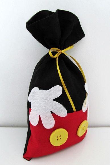 Lapela Para Saquinho Mickey | Mickey party, Festa da minnie mouse ...