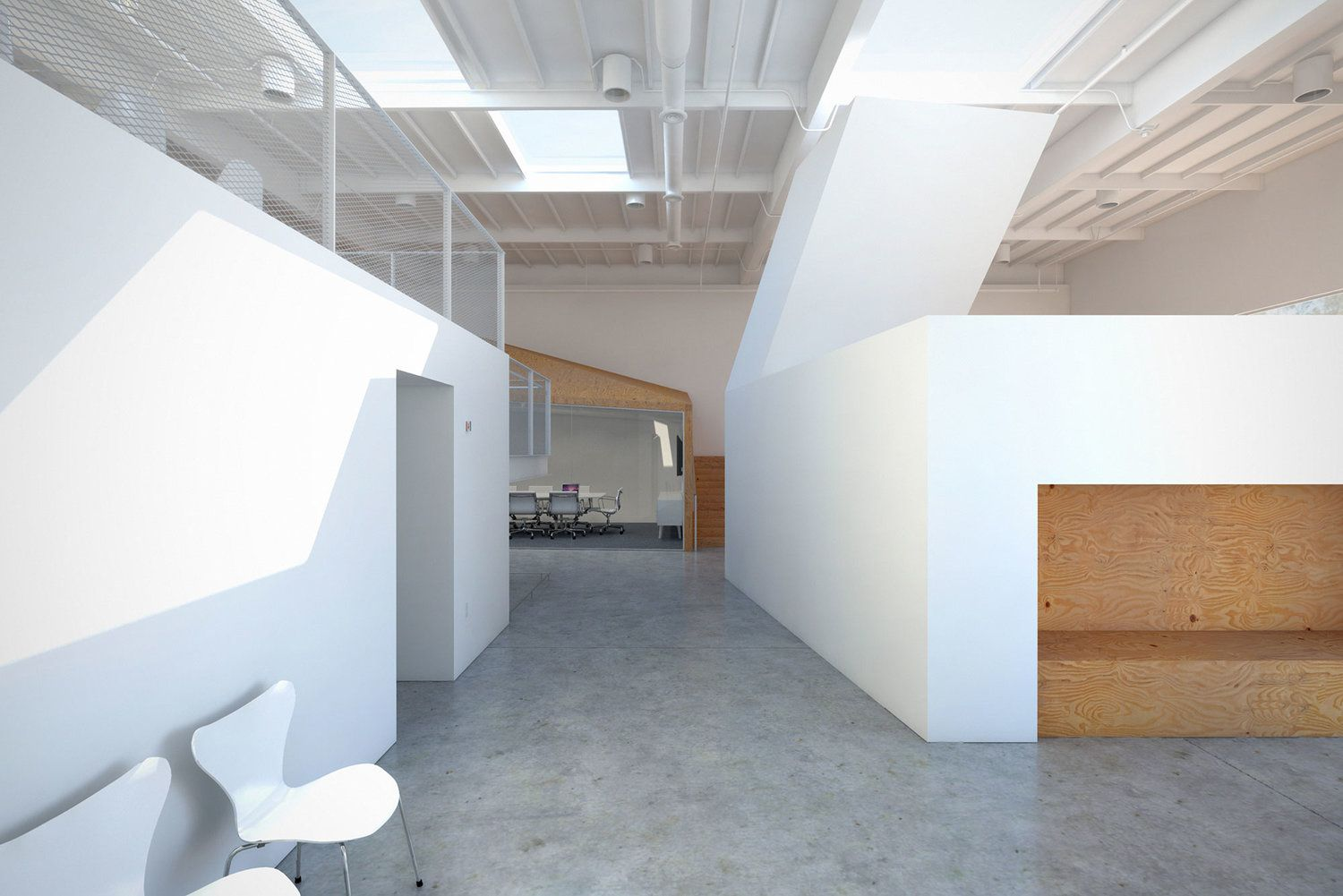 hybrid office (With images)   Modern office design, Office ...