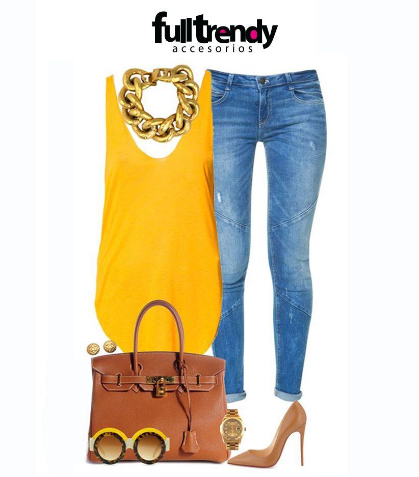 #Accesorízate Trata de combinar los accesorios con los tonos de ropa que uses, eso aportará armonía, elegancia y delicadeza a tu look #FullTrendy