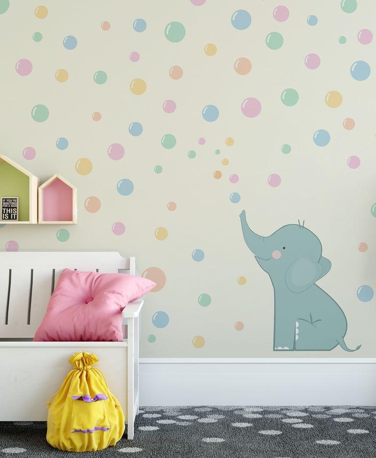 Gilberto Carta da parati Baby Interior Design