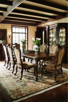 Casa Bella Rectangular Table Formal Dining Stacy Furniture Design Dallas Fort Worth Furniture With Images Dining Room Design Dining Room Ceiling Stacy Furniture