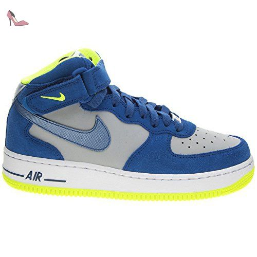 factory outlet clearance prices huge discount Nike Air Force 1 Mid Grey Blue Youths Trainers Size 38.5 EU ...
