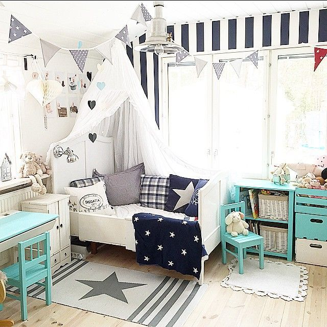 Mommo design 10 rooms for little boys chambre bebe for Little kids room