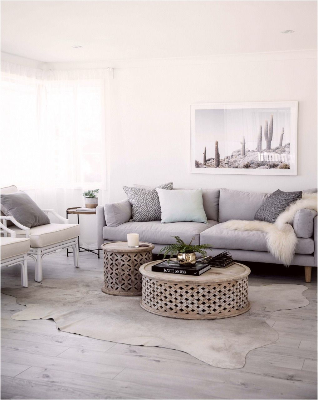 Nice Home Design Pictures 2021 in 2020 | White living room ...