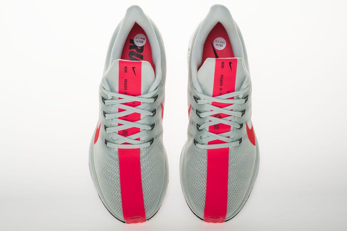 free shipping 97e3b 6da3d Nike Zoom Pegasus 35 Turbo AJ4115-060 Barely Grey Punch Shoes7