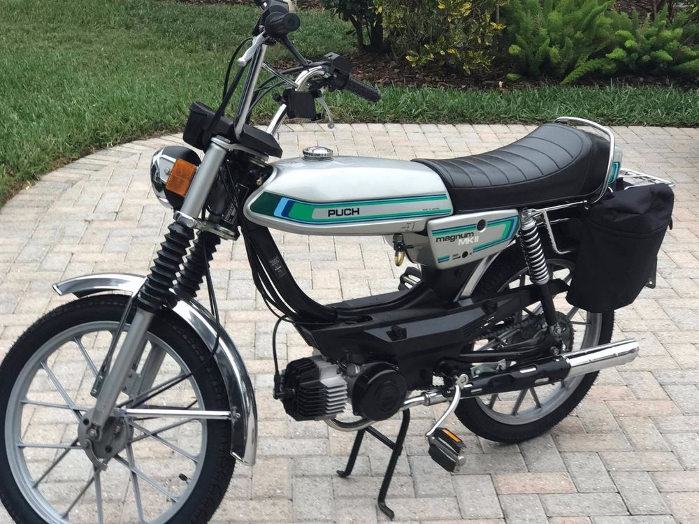 Puch Moped Magnum 1979 #Puch | Transportation | Puch moped