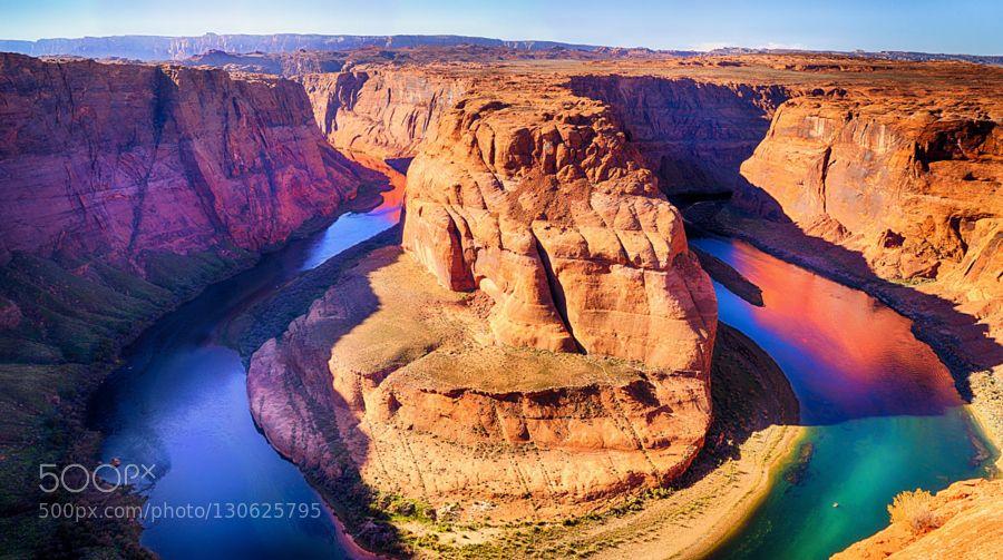 Horseshoe Bend Arizona by lostwarrior #nature