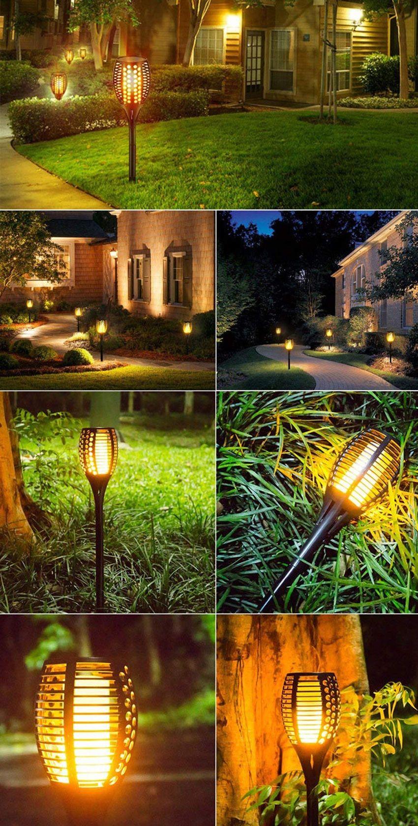 15 idee per illuminare il giardino con le luci solari