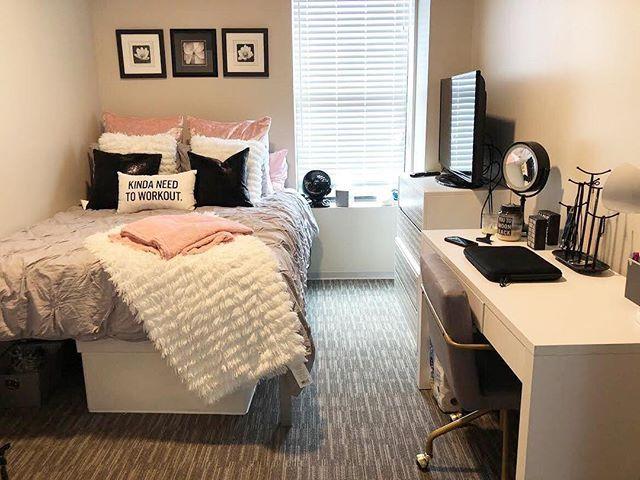 45+ Increíbles Ideas de Habitaciones para Chicas Adolescentes -   18 room decor Small bedroom ideas