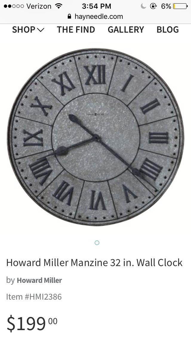 Pin By Casey Clark On Clocks Hayneedle Com Clock Wall